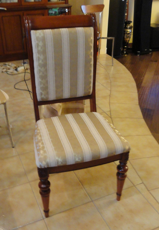 Как поменять обивку на стул своими руками 163